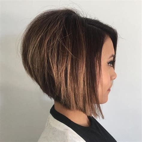 how to blow out a stacked bob best 25 short stacked hair ideas on pinterest waves in