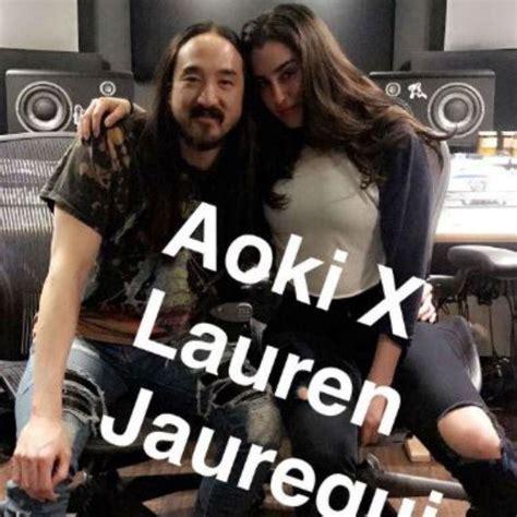 steve aoki and lauren lauren jauregui is recording with steve aoki