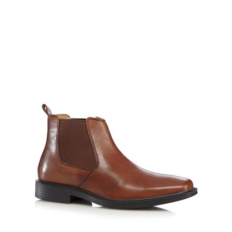 debenhams mens boots henley comfort mens airsoft leather chelsea boots