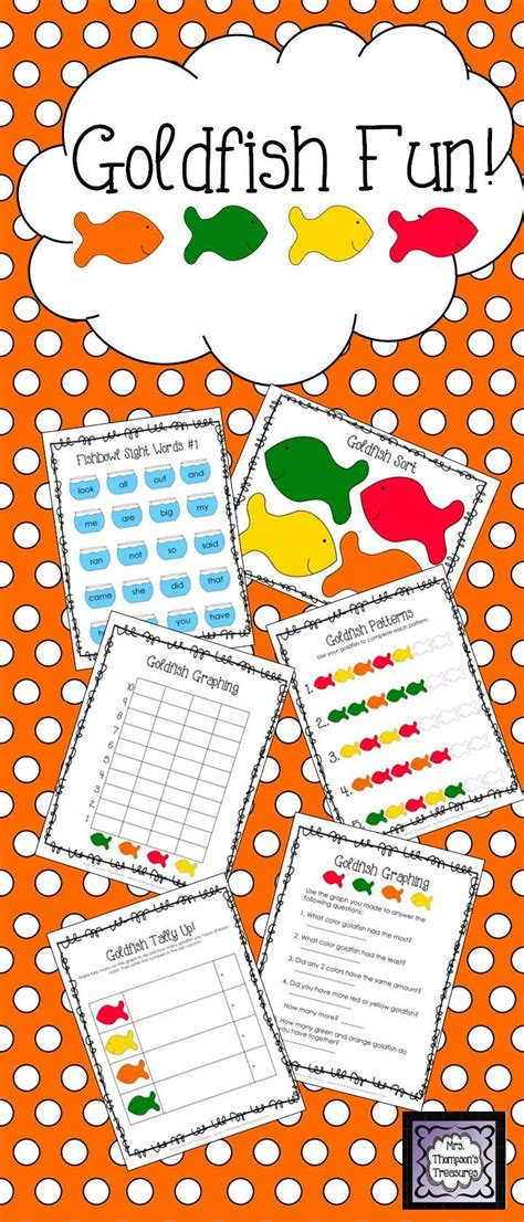 pattern and sorting games learning with goldfish fun activity pack graphing