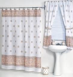 shower curtains with matching window treatments ivory fabric shower curtain