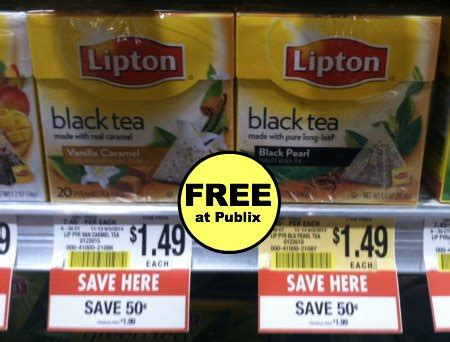 A Tastetea Reminder And Free Tea Offer by Reminder Free Black Tea At Publix