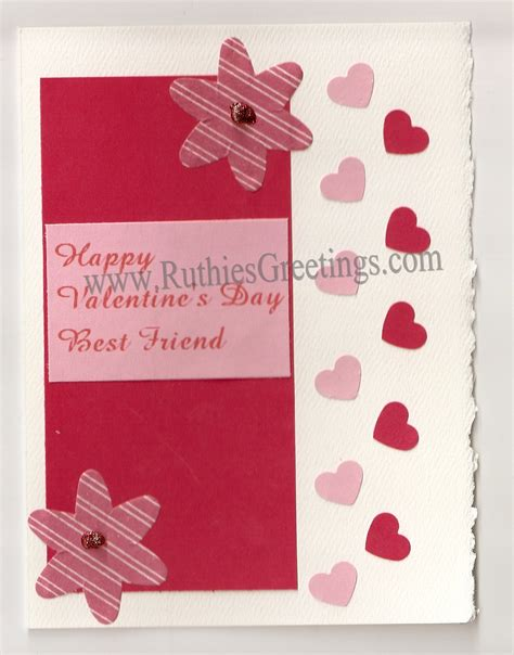 Handmade Valentines Day Card - handmade s day cards