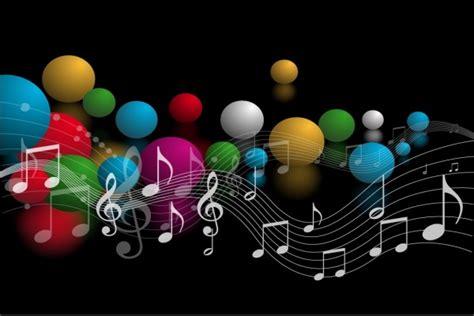 imagenes musicales hd fondos de notas musicales de colores hd imagui
