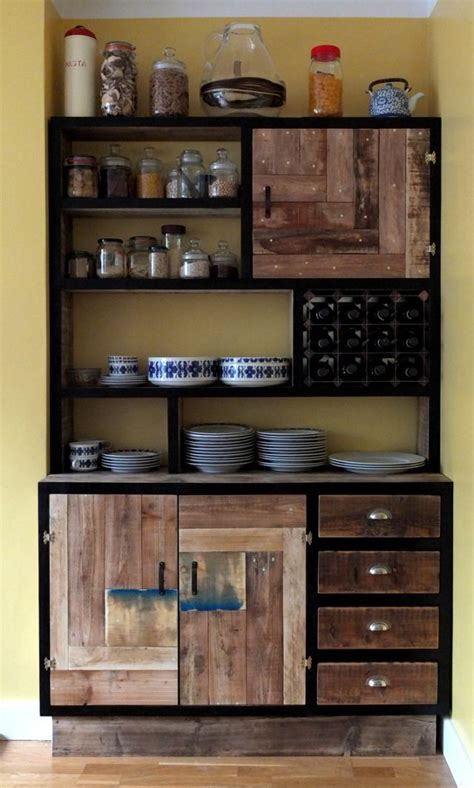 storage furniture for kitchen 25 best reclaimed wood furniture ideas on