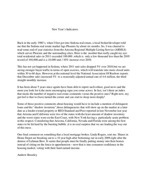New Financial Year Letter andrew brearly sedona new year letter