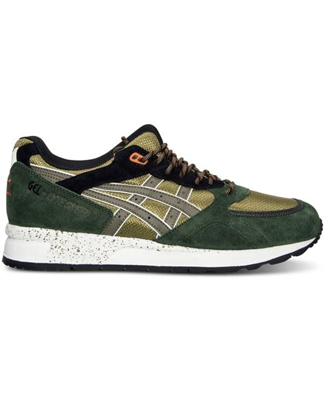 Asic Tiger Onitsuka Casual For 02 asics s onitsuka tiger gel lyte speed casual sneakers from finish line in green for lyst