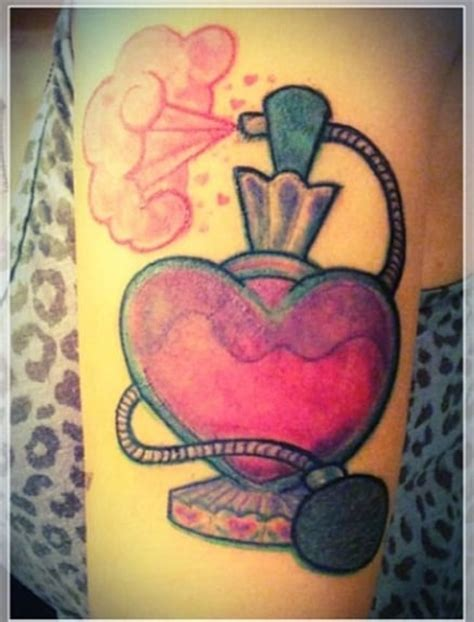 love tattoo perfume vintage perfume bottle by tattoo artist sean o hill yelp