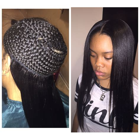 Weave Hairstyles No Leave Out   HairStyles