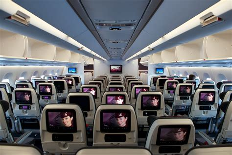 a350 cabin a demonstration flight aboard the airbus a350 with