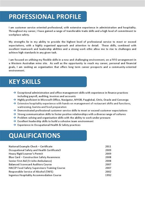 Resume Profiles Examples by We Can Help With Professional Resume Writing Resume