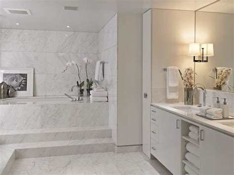 spa  bathroom  completed  white himalaya