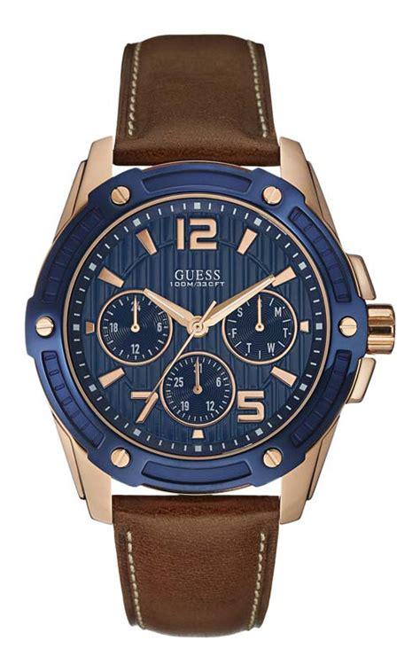 Jam Tangan Pria Wanita Aigner A473 Brown Rosegold Terbaru promo jam tangan pria guess w0600g3 original