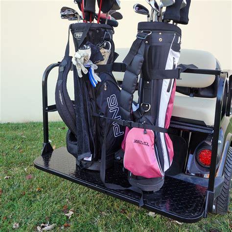 Golf Cart Bag Rack Attachment by Golf Cart Golf Bag Holder Golf Cart Accessories Rear