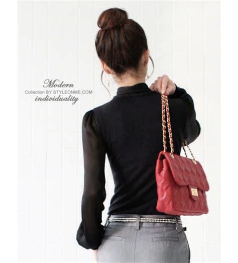 Blous Wanita Sinaran 1 blouse wanita import modis terbaru model terbaru jual murah import kerja