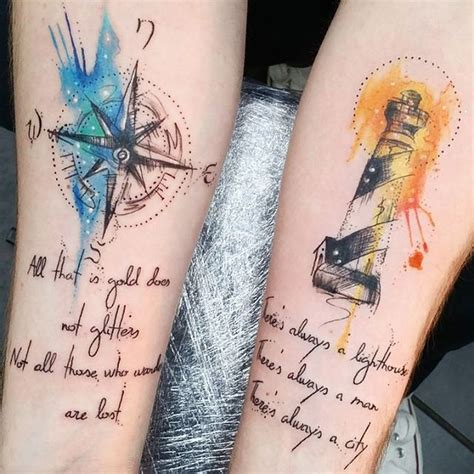 25 best ideas about watercolor compass tattoo on