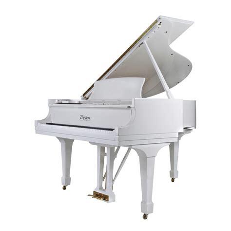 white piano bench canada model 163pe 5 4 grand piano in exclusive polished white