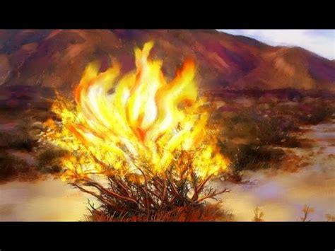 The Burning Bush the burning bush graveyards on