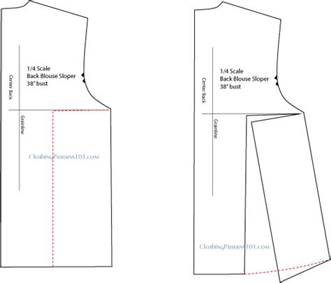 pattern drafting a blouse block learn how to draft a swing top or flared top
