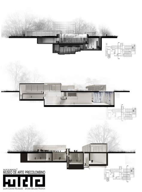 black section las 25 mejores ideas sobre cortes arquitectonicos en
