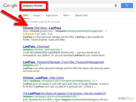 How to Download and Install LastPass for Google Chrome: 4 ...