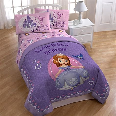 sofia the first comforter set buy disney 174 sofia the first twin full comforter from bed