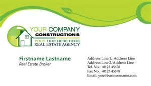 real estates business cards vectors
