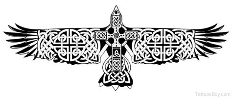 celtic crow tattoo celtic tattoos designs pictures page 3