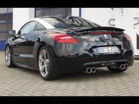 Peugeot Rcz R Tuning Peugeot Rcz 200 Tuning With Exhaust System