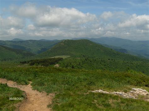 Black Balsam Knob To Cold Mountain by Loeb Trail