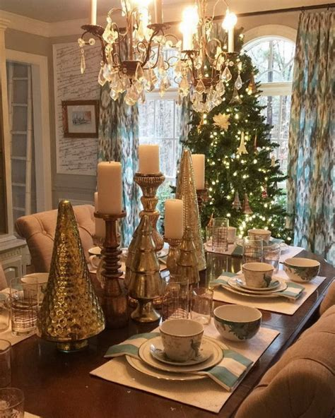 dining room table christmas decoration ideas 70 ultra modern christmas tablescape stunners style estate
