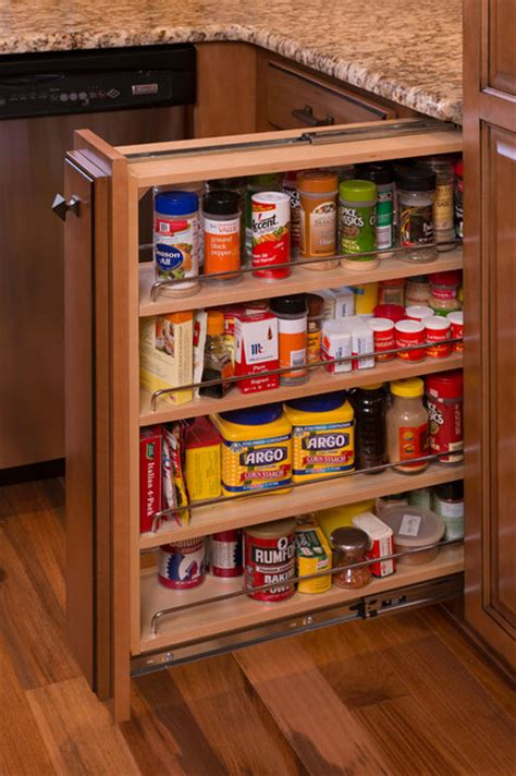 pull out can rack retail remodeling project traditional kitchen other metro by legacy crafted cabinets