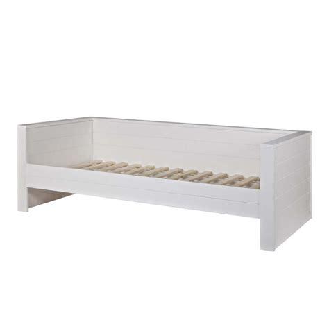 lit banquette 1 place cadre de lit 1 place banquette en bois fsc denis drawer fr