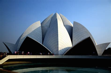 lotus temple delhi india travis wise flickr