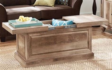 Storage Table For Living Room - rustic wood coffee table storage trunk furniture living