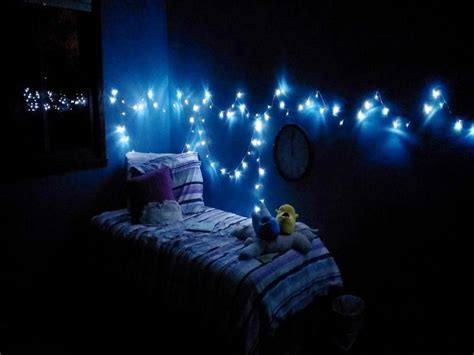 Blue Christmas Lights in Bedroom : Awesome Christmas