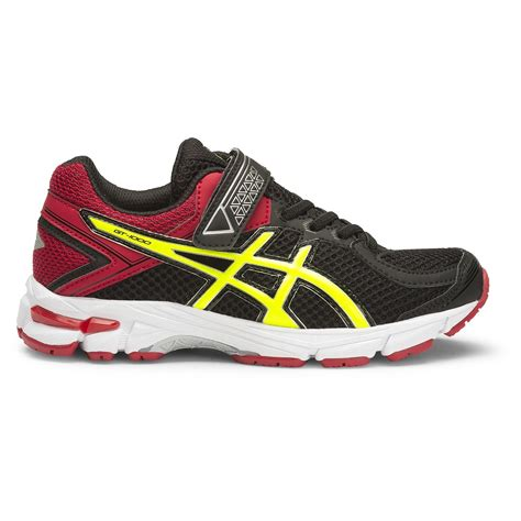 Ardiles Malovic Black Yellow Running Shoes asics gt 1000 4 ps boys running shoes black flash yellow racing sportitude