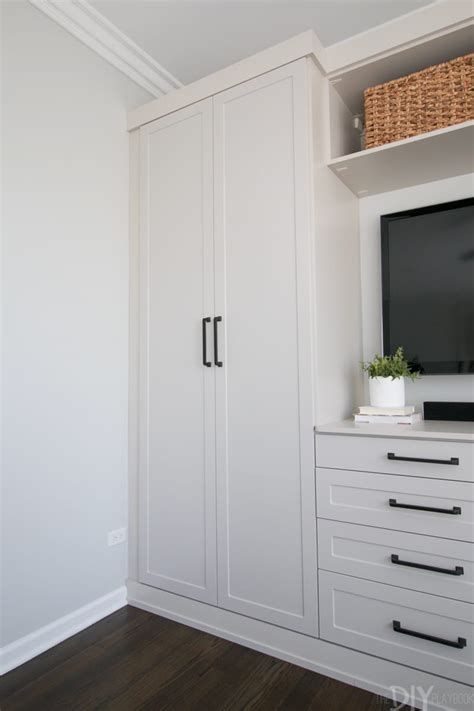 master bedroom built ins  storage  diy playbook