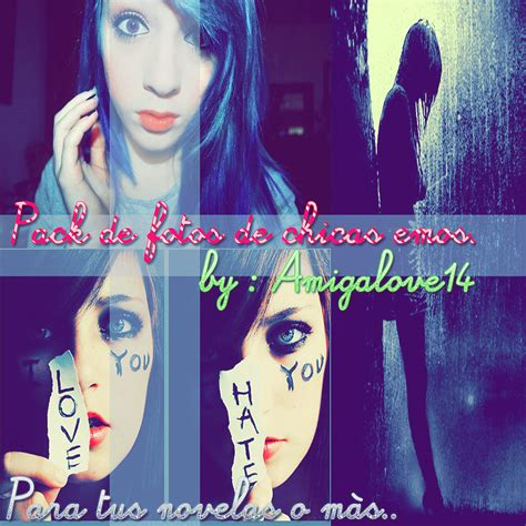 imagenes de chicas emo pack de fotos de chicas emo by amigalove14 on deviantart