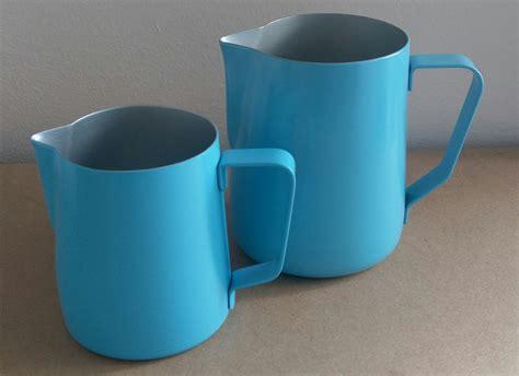 Premium Barista Milk Pitcher 250 Ml coffee omega milk pitcher light blue 600ml coffee