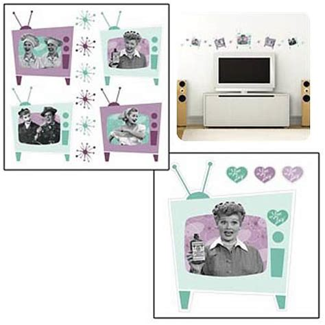 i love lucy home decor i love lucy wall decal set vandor i love lucy home