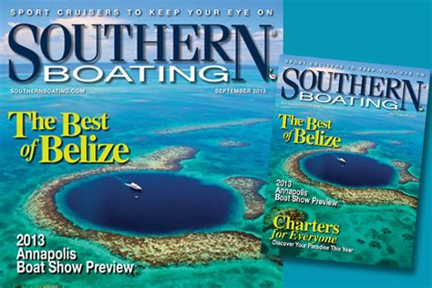 southern boating magazine southern boating magazine features belize ambergris