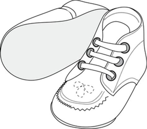 coloring pages of baby shoes free baby shoes clipart image 0515 0907 2922 0929 baby