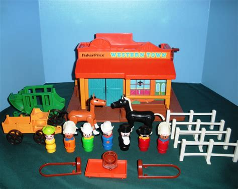 Mainan Anak Western Food Shop Playset vintage fisher price 934 play family western town comp w bonus exc nr mint