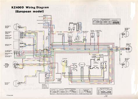 electrical wiring kz400d european wiring diagrams