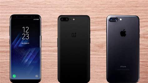 Harga Samsung S8 Dan Iphone 7 Plus skor benchmark galaxy s8 kalah telak dari oneplus 5 dan