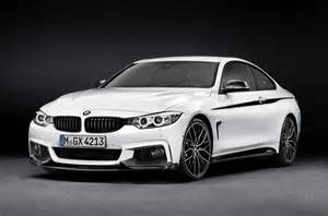 official bmw 4 series coupe with m performance parts
