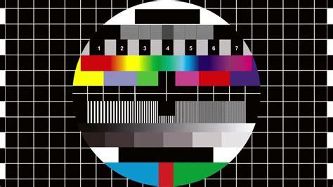 test pattern noise bad tv loop 1 static noise on hdtv test color bars