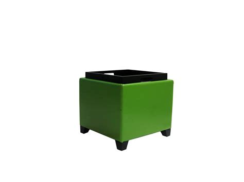 contemporary storage ottoman contemporary storage ottoman with tray green