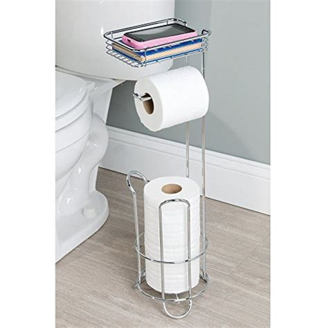best free standing toilet paper holder interdesign classico free standing toilet paper holder